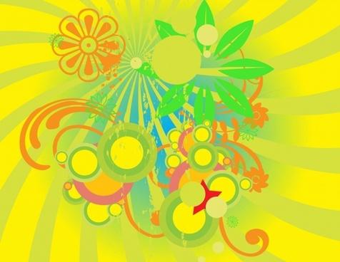 Summer Flowers Graphics