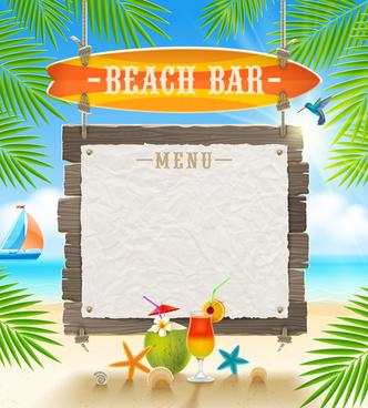 summer holidays seaside travel background