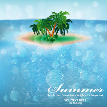 summer sea background art
