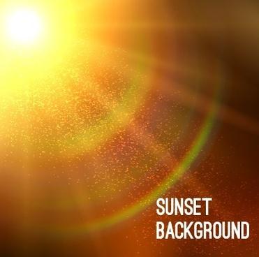 summer sunlight background art vector