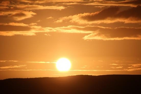 sun abendstimmung sunset