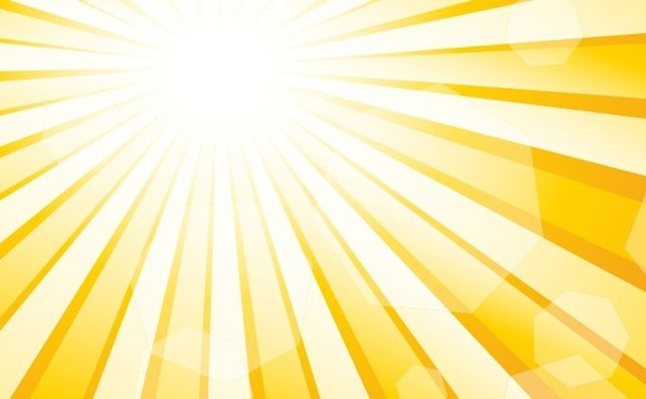 sunlight background sparkling bokeh yellow white design