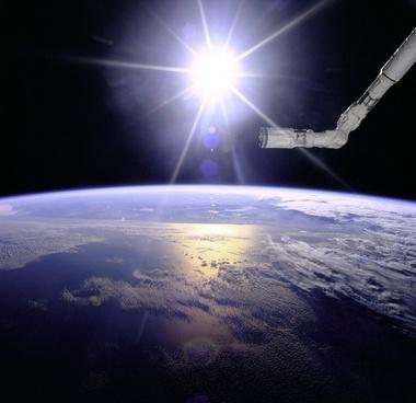 sun earth space