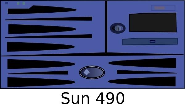 Sun Fire Game clip art