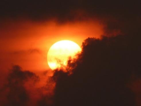 sun fireball glow