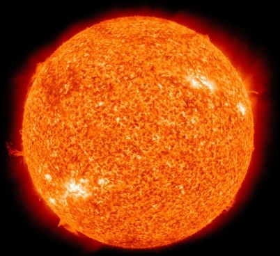 sun fireball solar flare