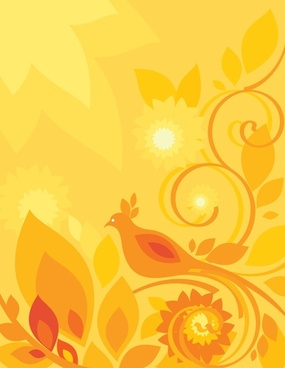 sun flower pattern vector