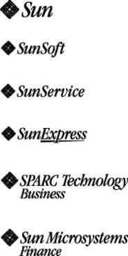 Sun microsystems logos
