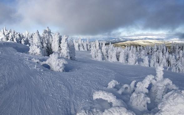 sun peaks winter snow