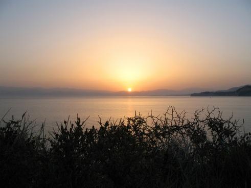 sun rise sunrise