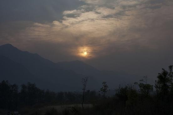 sun rise sunset the rising sun