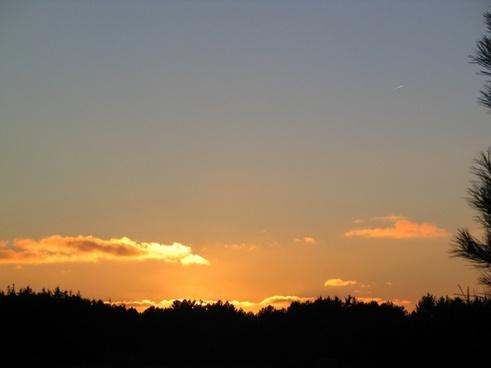 sun setting sun sunset