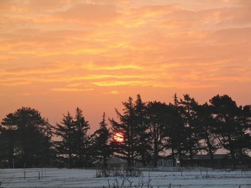 sun sky nature