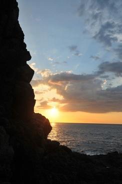 sun sky sunset
