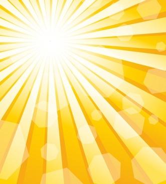 sun sunny background vector