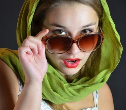 sunglasses cloth face
