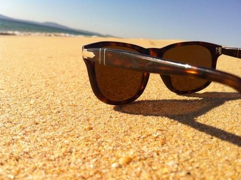 sunglasses sand sun