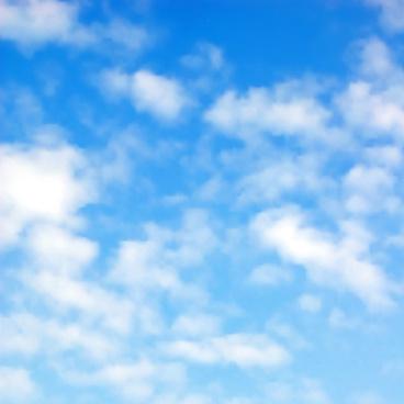 sunny blue sky background vector
