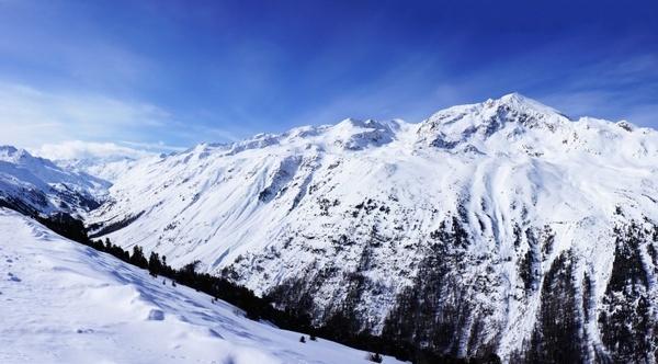 sunny mountain mountains