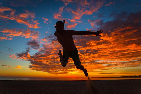 sunrise acrobatics
