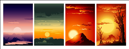 Sunrise and sunset collection
