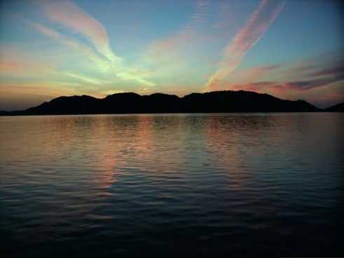 sunrise at deck