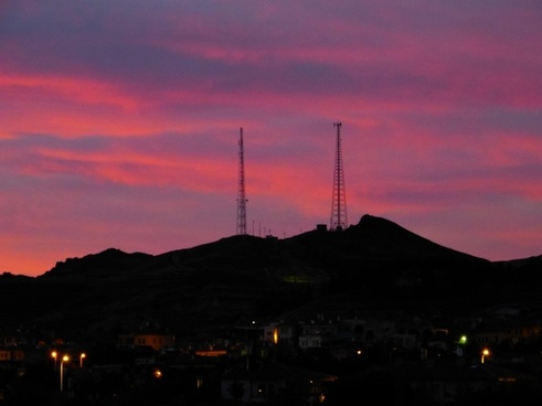 sunrise morgenstimmung skies