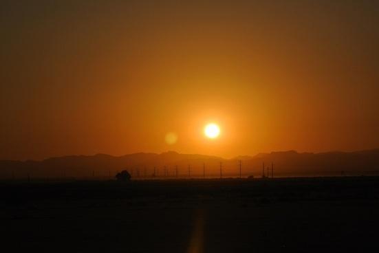 sunrise nature landscape