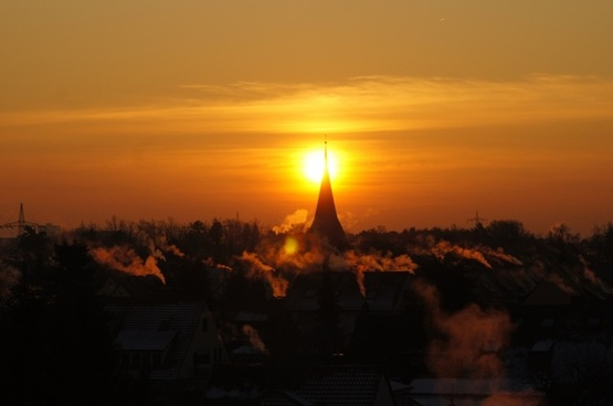 sunrise sun nature