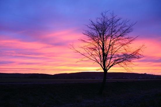 sunrise sunset morning