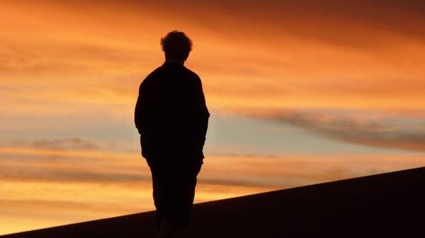 sunset atacama desert