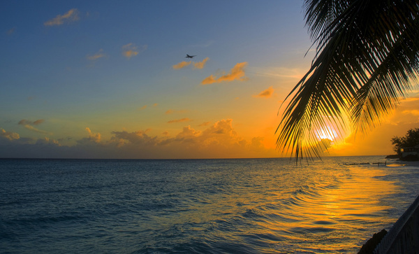 sunset barbados