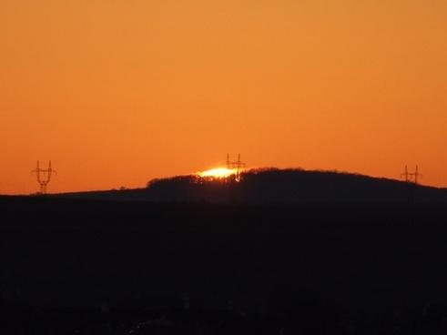 sunset day s sky