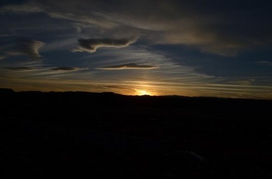 sunset desert casablanca