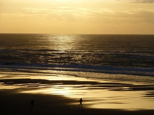 sunset lincoln city oregon