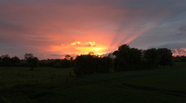 sunset may 6