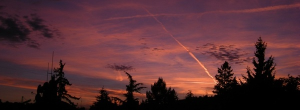sunset prague 2012