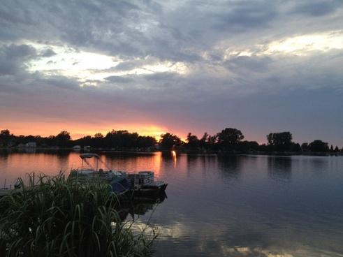 sunset shipshewana indiana