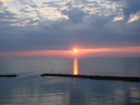 sunset sunrise beach