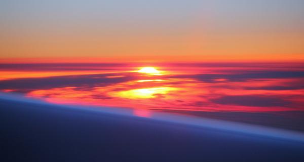 sunset sunrise both