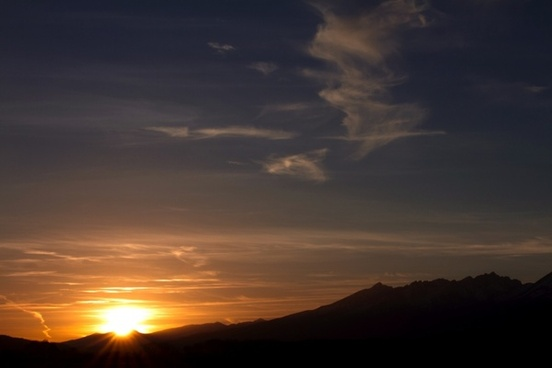 sunset sunrise slovakia