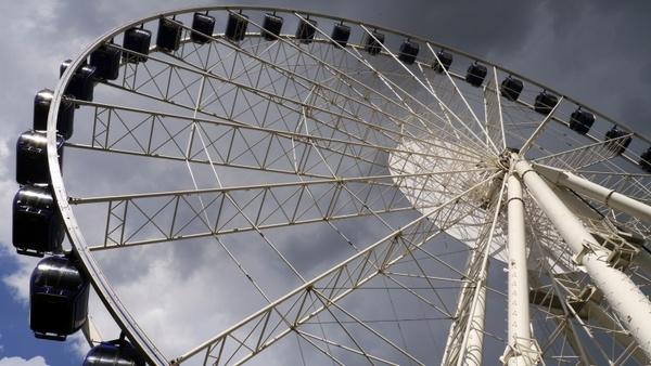 sunshine giant ferris wheel budapest
