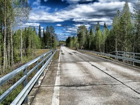 suomussalmi finland road