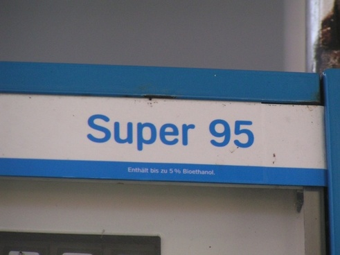 super 95 gas pump