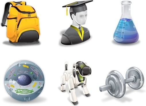 Super vista education icons icons pack