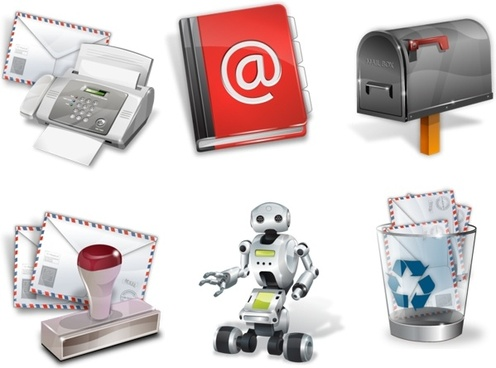 Super vista email icons icons pack