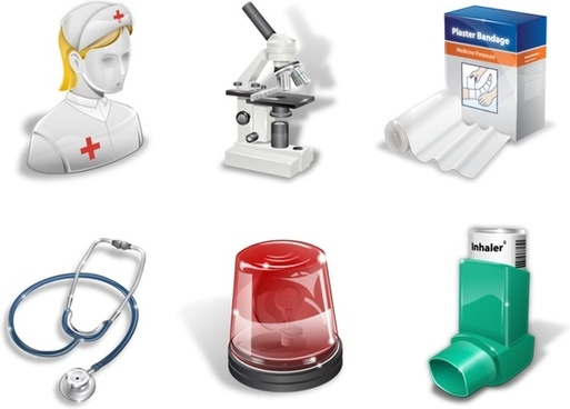 The super vista medical icons icons pack