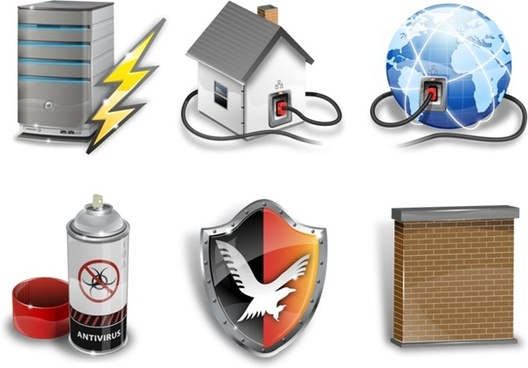 Super vista security icons icons pack