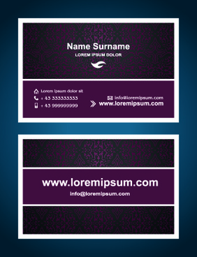 Business card calendar template 2017 free vector download 32364 superior business cards design template vector flashek Images