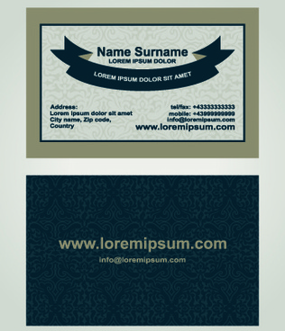 Corel draw business card name template free vector download 118427 superior business cards design template vector flashek Images
